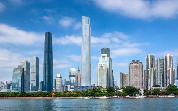 Architektur und Design China CTF Finance Center