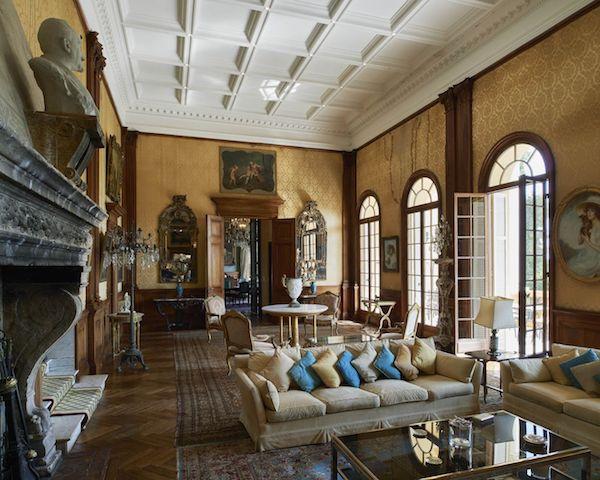 Belle-Epoque Architektur Innenräume Opulenz