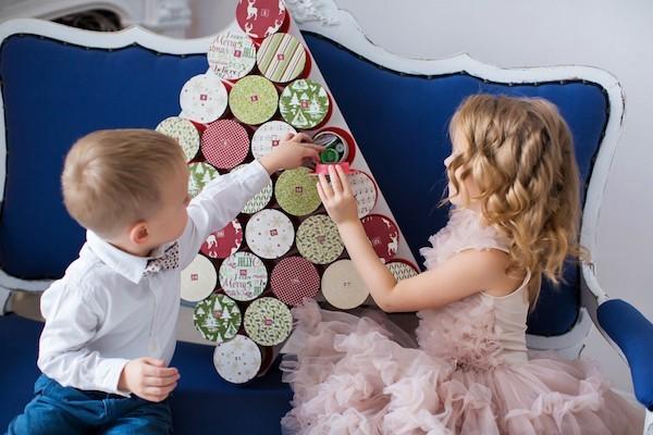 Coole Adventskalender Ideen adventszeit dekoideen kinder