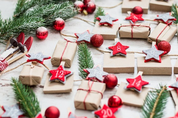 Coole Adventskalender Ideen weihnachtsgeschenke festlich spanned