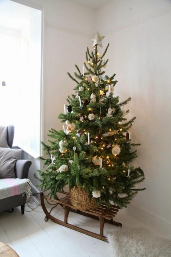 Deko von Weihnachtsbaum