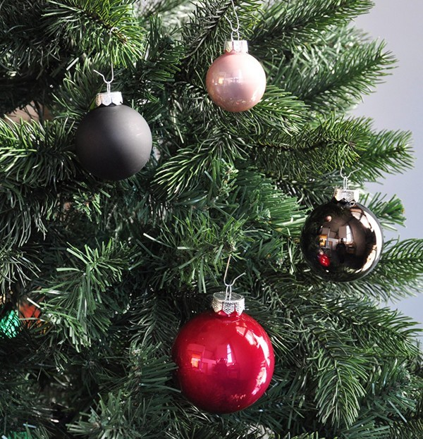 Dekoration fuer Weihnachtsbaum