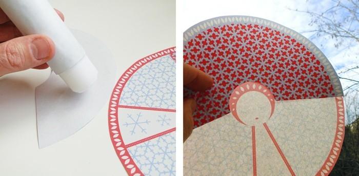Engelsfluegel basteln mit pappteller basteln anleitung cd rohling