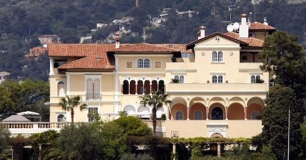 Französische Villa Les Ceders bewegte Geschichte einmalige Architektur