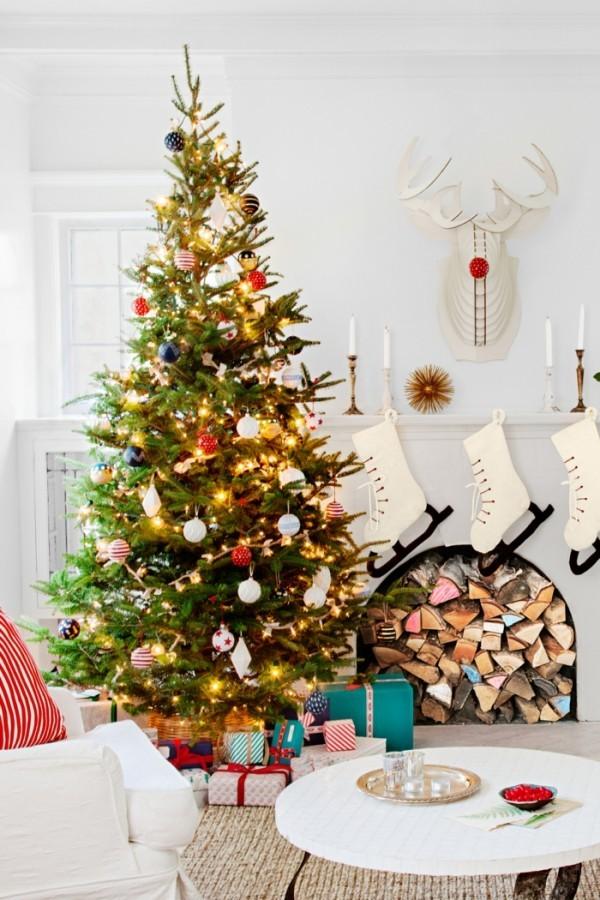 Gestaltung von Weihnachtsbaum