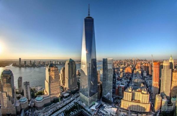 Ground Zero One World Trade Center New York einmalige Architektur