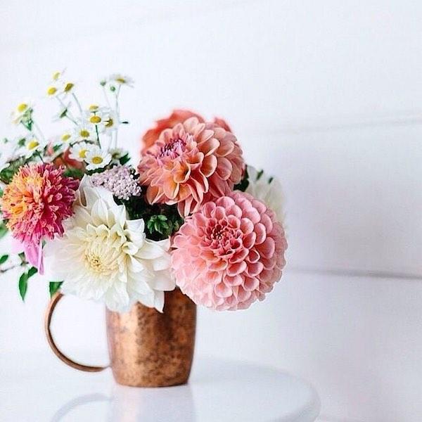 Herbstblumen Arrangement