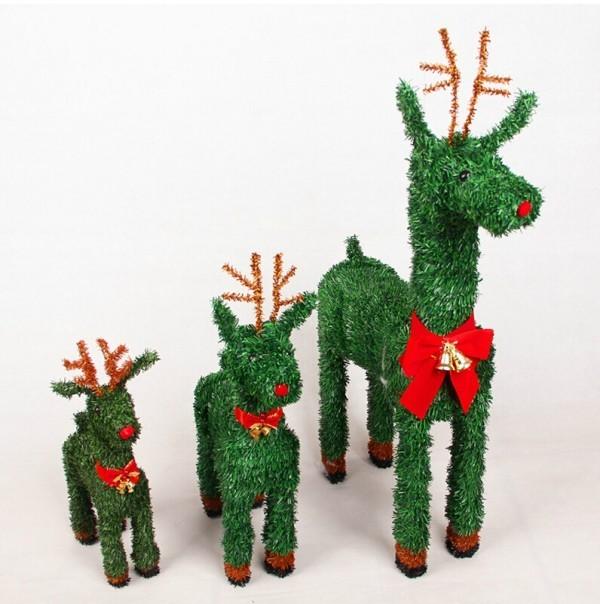 Hirsche Weihnachtsgeschenke mit kindern basteln