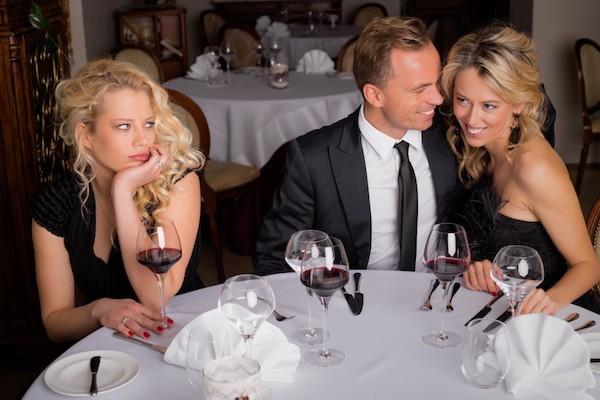 Hochzeitsfeier Ex Freundin die Party Stimmung verderben