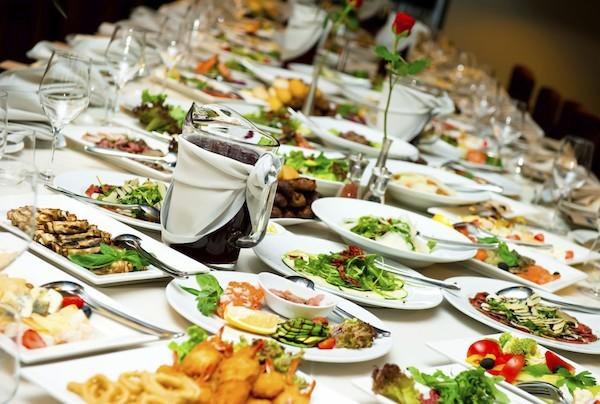 Hochzeitsfeier Hochzeitsmenü vegetarische Gerichte nicht überladen sein