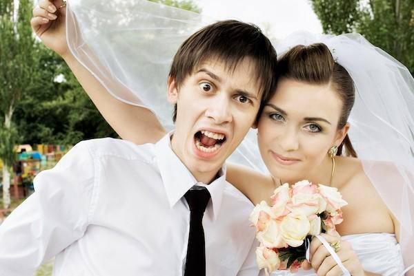 Hochzeitsparty sich selbst blamieren