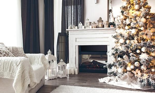 Kamin Dekoration Weihnachten