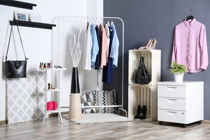Kleideraufbewahrung kleine Appartements