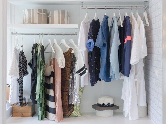 Kleiderstange moderne Lösung