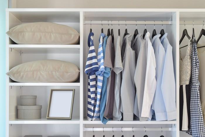 Ordnung Im Kleiderschrank T Shirts clevere tipps für mehr ordnung im kleiderschrank - fresh ideen für