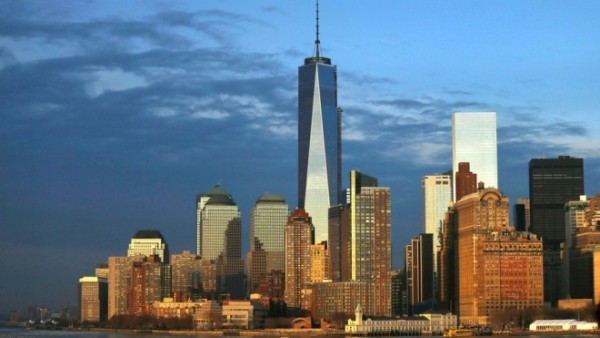 New York One World Trade center imposante Architektur