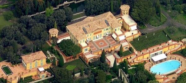Opulente Villa französische Riviera teuerste Haus weltweit