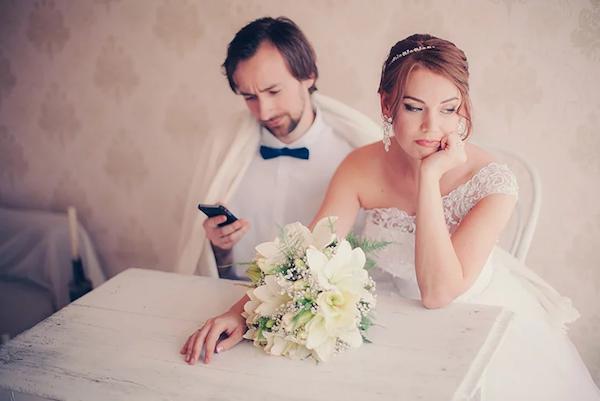 Peinliche Situationen vermeiden Hochzeitsfeier Braut Aufmerksamkeit schenken