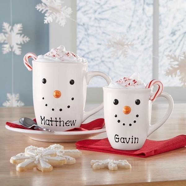 Personalisierte Becher tolle Geschenkidee für Eltern zu Weihnachten