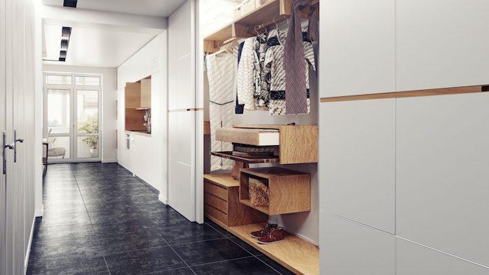 Schiebetür Kleiderschrank Korridor