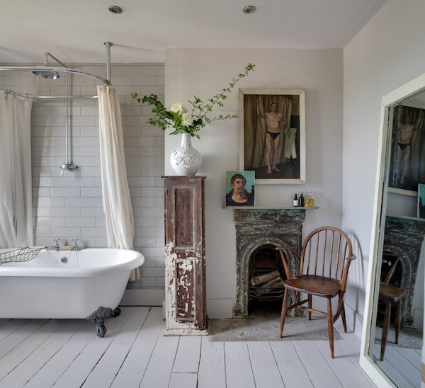Shabby Chic Badezimmer passende möbel dekoartikel