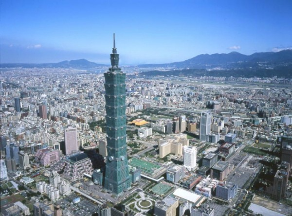 Tapei 101 Modern Architektur Taiwan