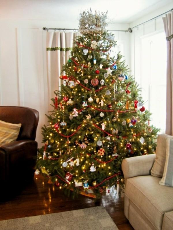 Weihnachtsbaum schmücken ideen