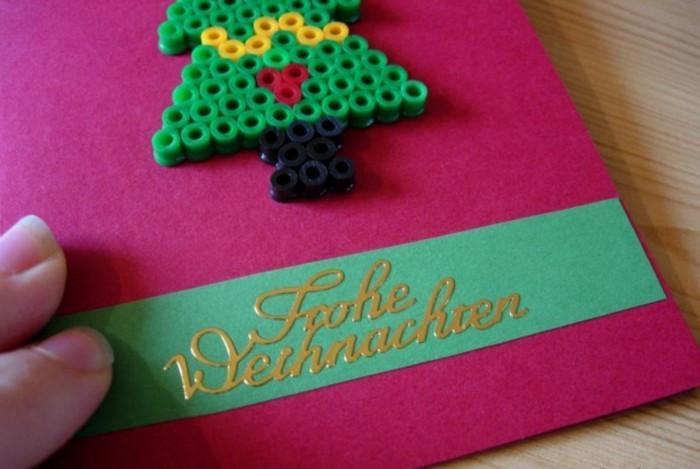 Weihnachtskarten selber basteln diy ideen basteln