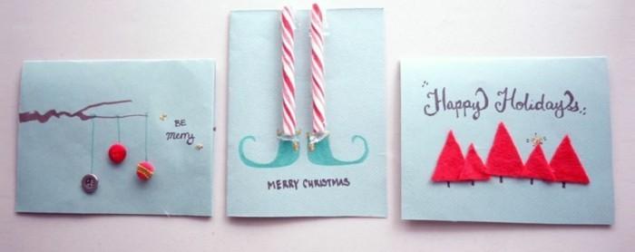 weihnachtskarten selber basteln und freunde und verwandte auf klassischem weg begr en. Black Bedroom Furniture Sets. Home Design Ideas