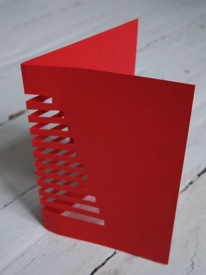 Weihnachtskarten selber basteln diy ideen schnelle karte