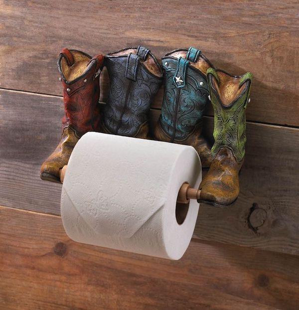 ausgfellenes toilettenpapierhalter