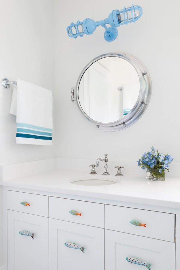 badezimmer spiegel wandgestaltung