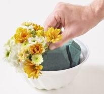 Blumengestecke selber machen: Die Basisregeln, Tipps und tolle Ideen