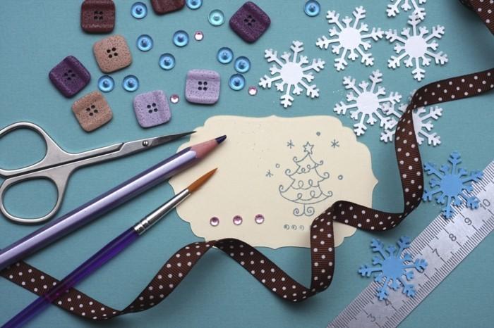 Basteln für Weihnachten- 42 tolle Ideen mit Anleitung für DIY ...