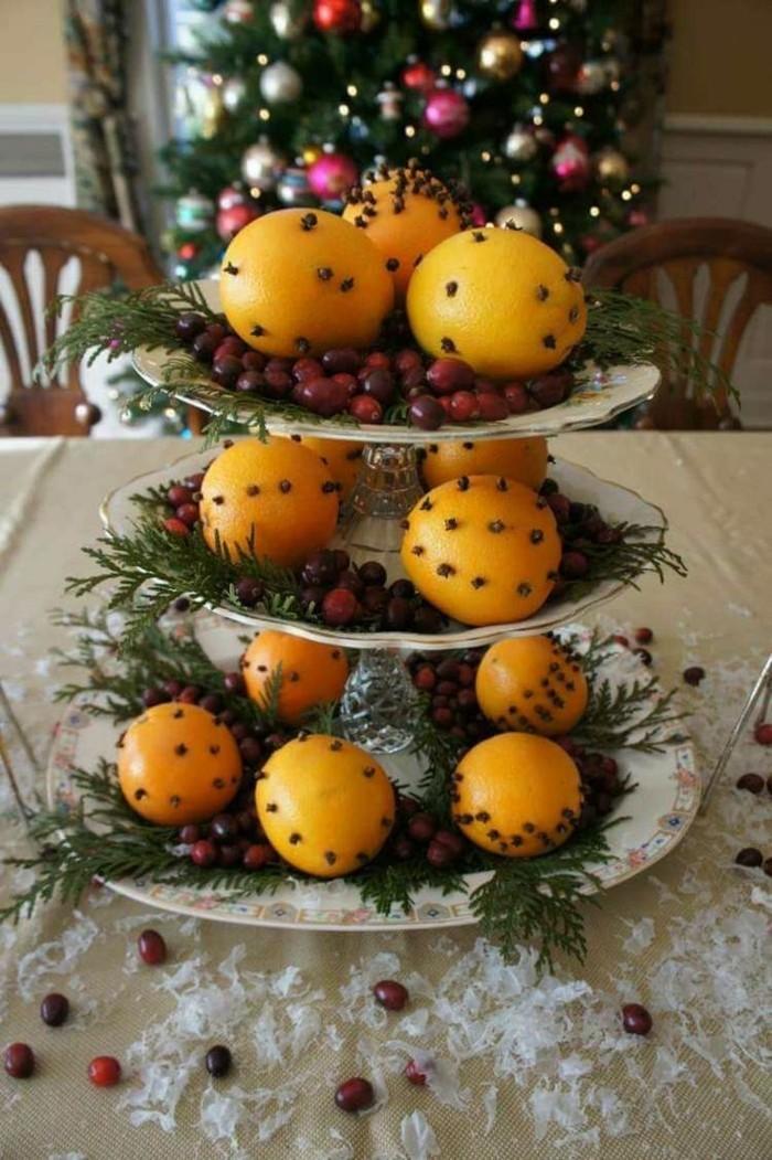 basteln für weihanchten nelke orange
