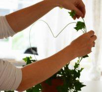 Was kann man mit Drahtkleiderbügeln basteln? Über 40 DIY Ideen und Bastelvorlagen