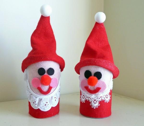 basteln-mit-klorollen-weihnachtsbasteln-weihnachtsdeko-ideen