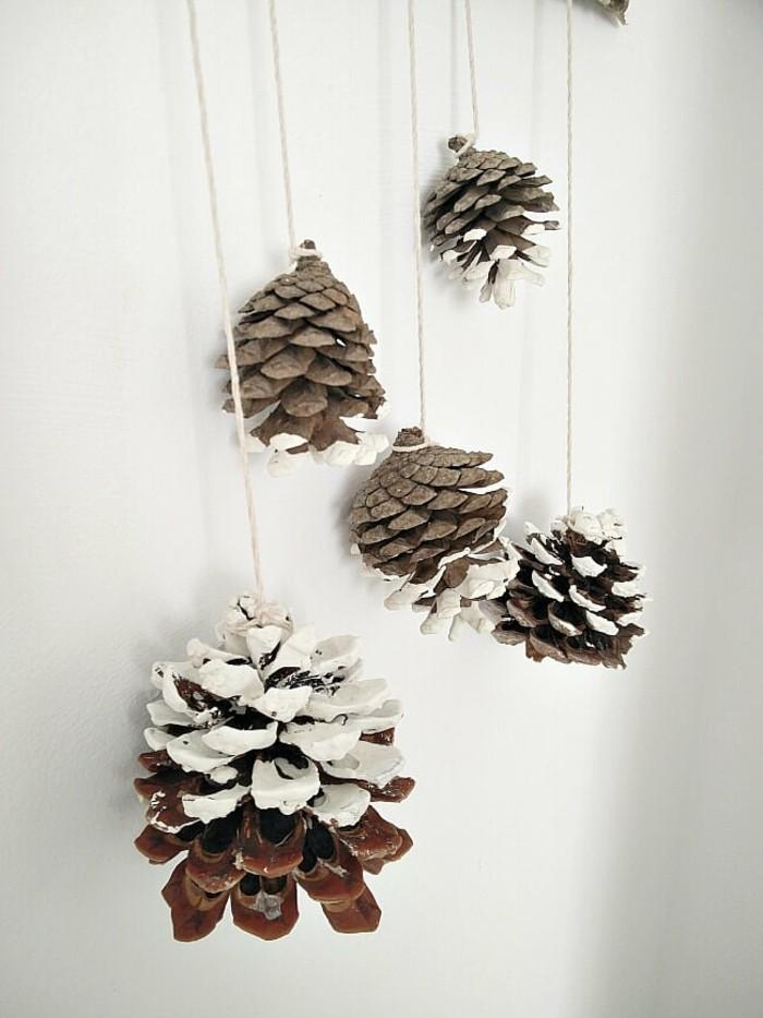 basteln mit tannenzapfen 62 ausgefallene bastelideen f r herbst und winter. Black Bedroom Furniture Sets. Home Design Ideas