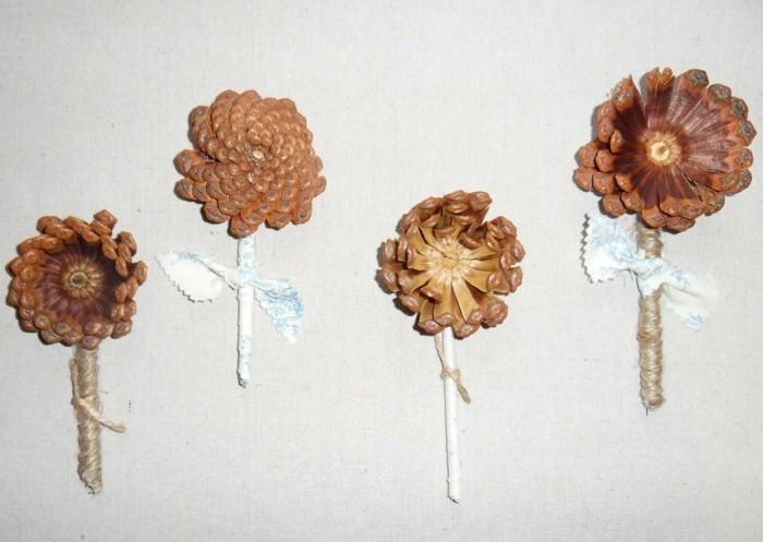 Basteln Mit Tannenzapfen 62 Ausgefallene Bastelideen Fur Herbst