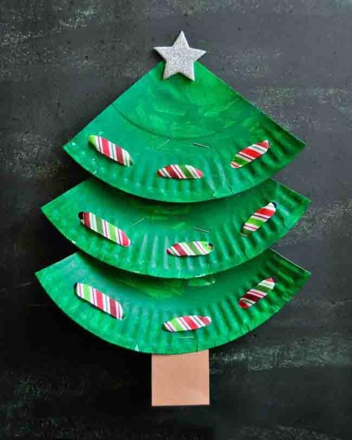 basteln weihnachten aus wiederverwendeten materialien