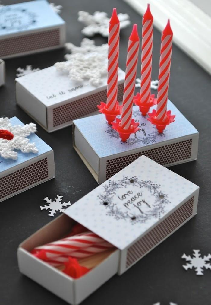 basteln weihnachten frische dekoideen