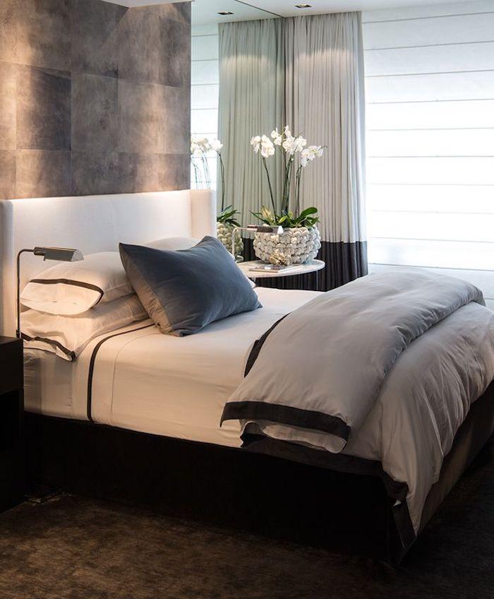 boxspringbett moder traditionelles schlafzimmer