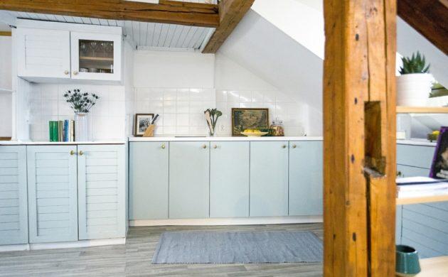 Küche Mit Dachschräge U2013 50 Ideen Für Ein Auffälliges Küchendesign