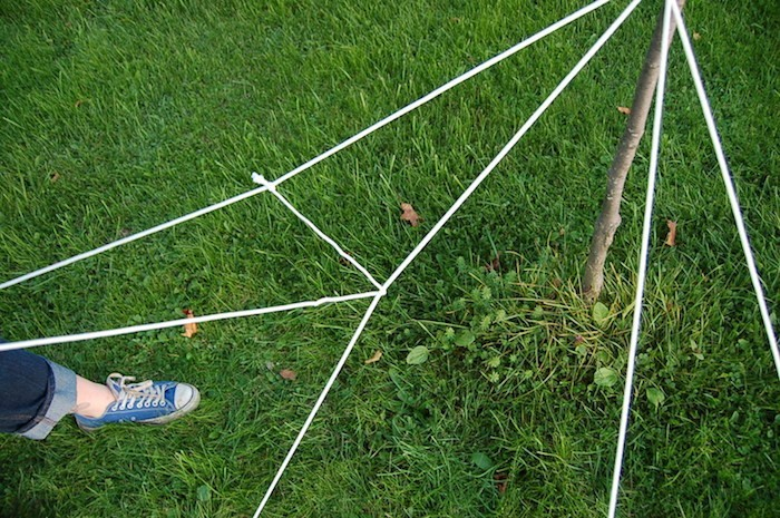 diy anleitung zu spinnweben selber machen