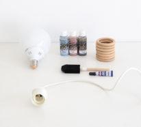 DIY Lampe: Einfache Anleitung für mehr Licht in der kalten Jahreszeit