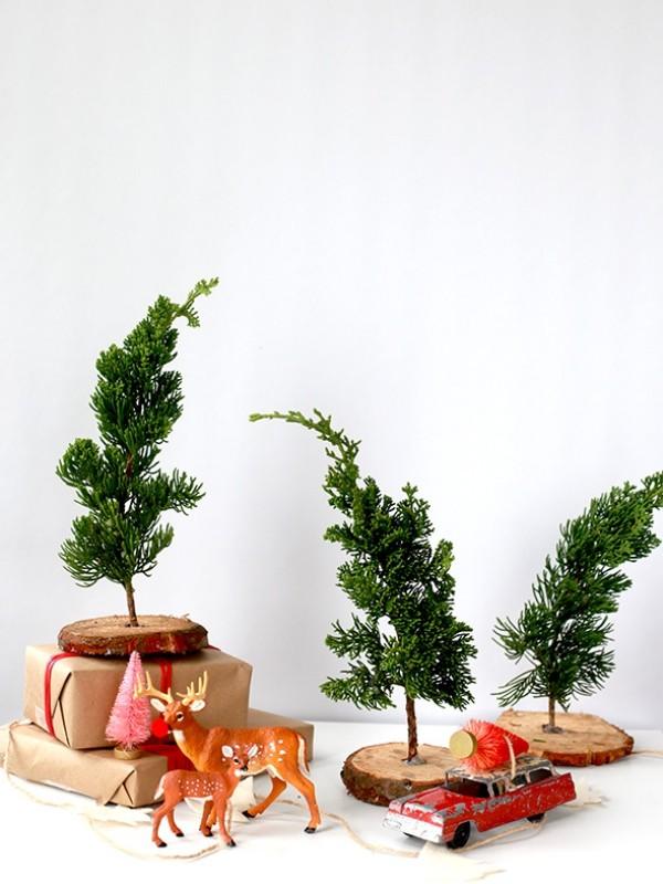 diy weihnachtsdekoration ideen ausgefallene dekoideen naturmaterialien