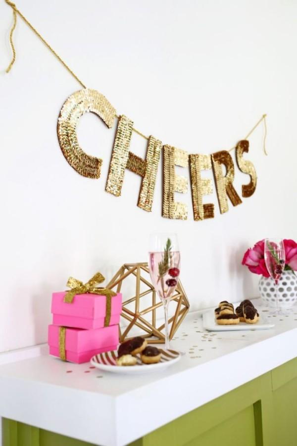 diy weihnachtsdekoration ideen dekogirlande geschenke