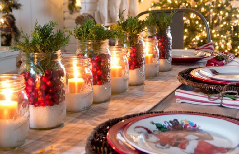 Weihnachtsdeko fur den tisch