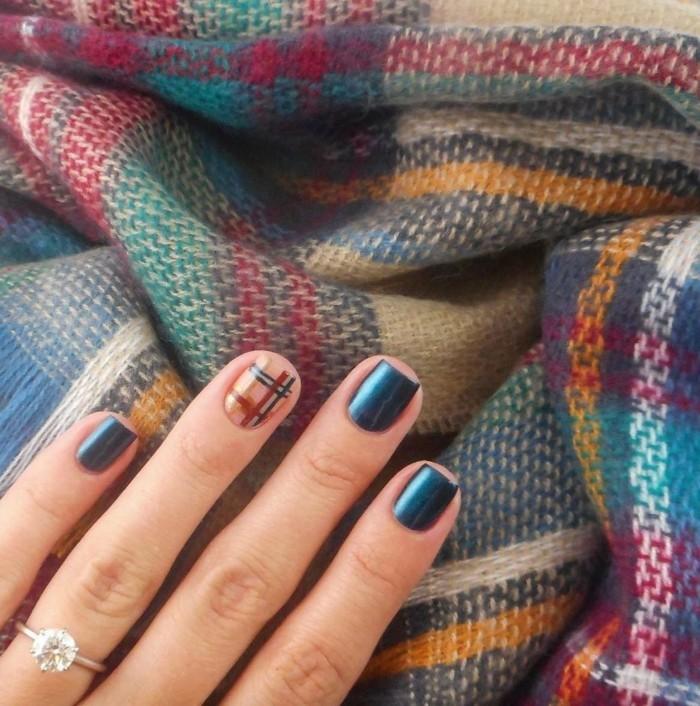 fingernägel design frisch schönes muster