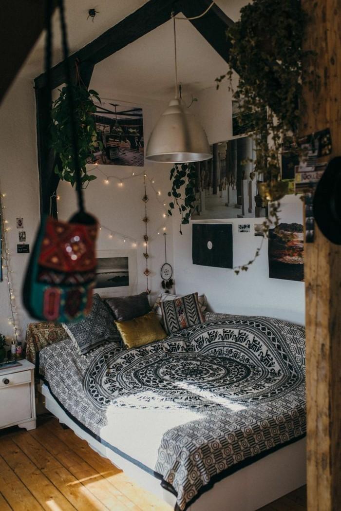 gemütliches schlafzimmer boho stil behaglich